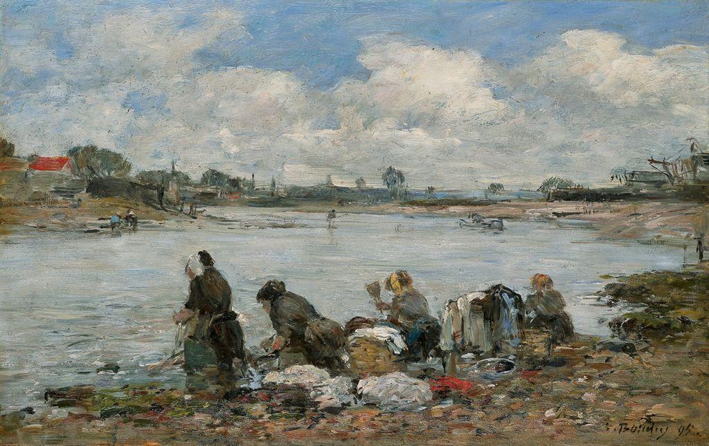 laveuses Eugène Boudin