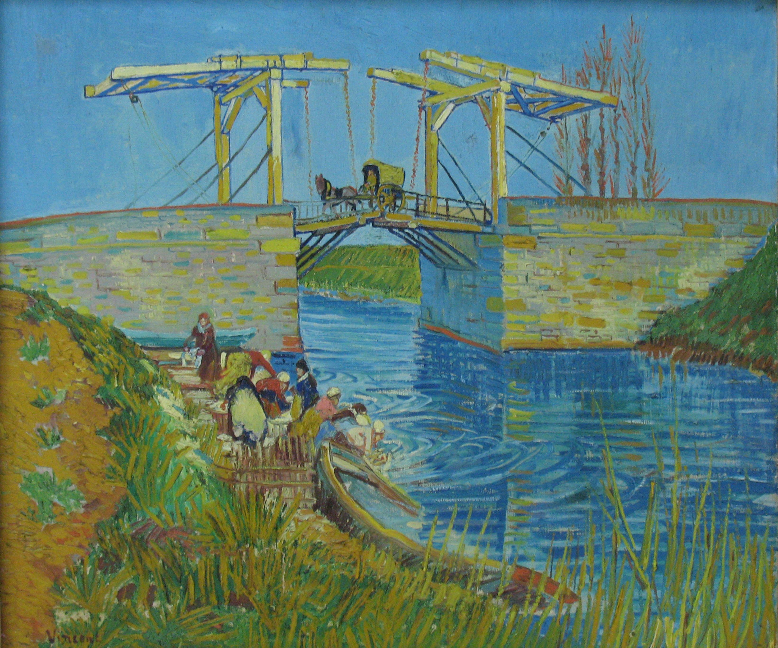 pont de langlois Vincent van Gogh