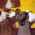Edgar Degas la Blanchisseuse