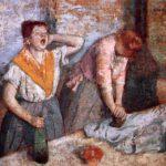 Edgar Degas les Repasseuses