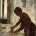 Edgar Degas la Repasseuse