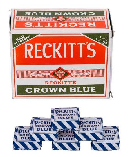 Reckitt's poppetje blauw