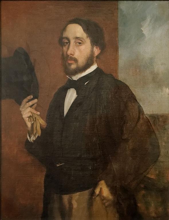 Edgar Degas, zelfportret
