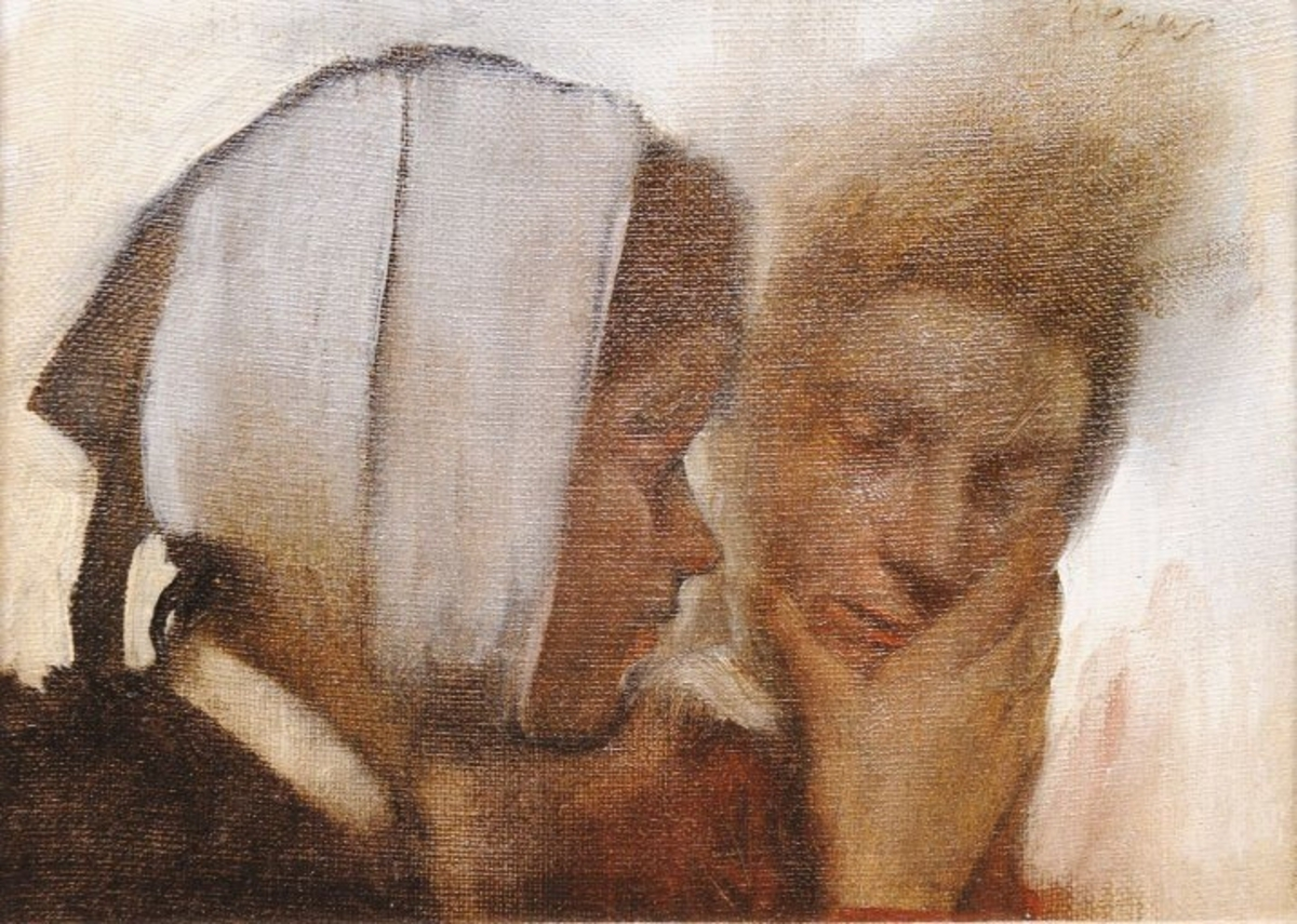 Edgar Degas, gestolen wasvrouwen